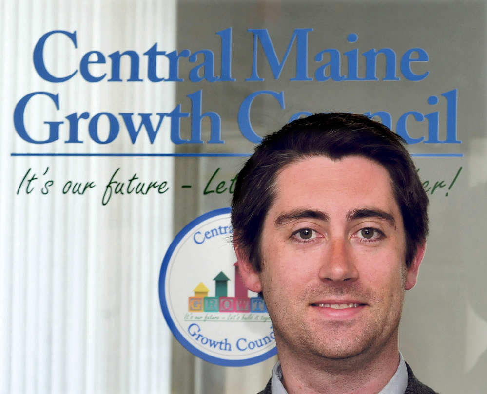 Garvan Donegan is the new economic development specialist at the Central Maine Growth Council, based in Waterville.