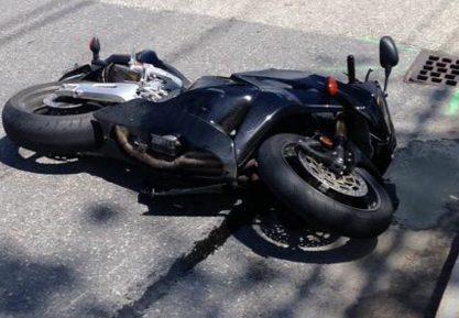 Two people were injured Friday in a motorcycle accident on Western Avenue in Augusta.