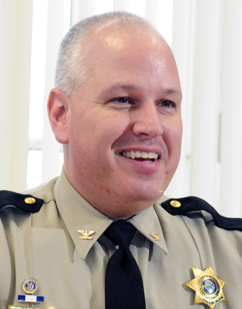 Kennebec County Sheriff's Chief Deputy Ryan Reardon was one of several local law enforcement officers to be honored for his work on the case involving former Chelsea Selectwoman Carole Swan and her husband Marshall.