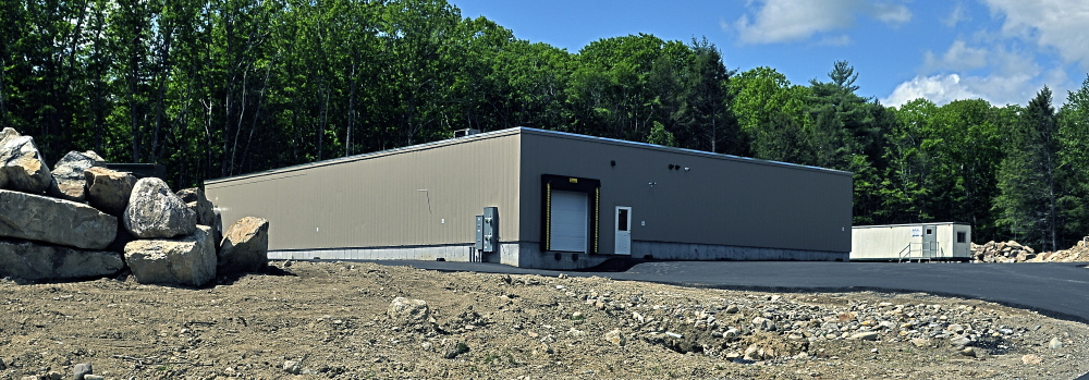 This photo, taken on May 29, shows the new Central Maine Meats plant in Gardiner.