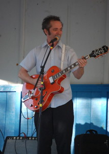 """Peter Witham, a blues and rockabilly musician originally from Burnham, is in Maine Medical Center in Portland suffering from organ failure. His song, """"Sunsets of My Mind,"""" got a lot of airplay after the Columbine shootings in 1999."""