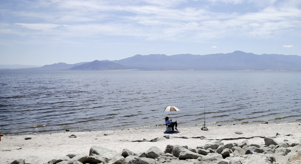 Created by a breached dike in 1905, the Salton Sea became one of California's top tourist attractions but now grows smaller as more water is diverted to dry Southwest cities.