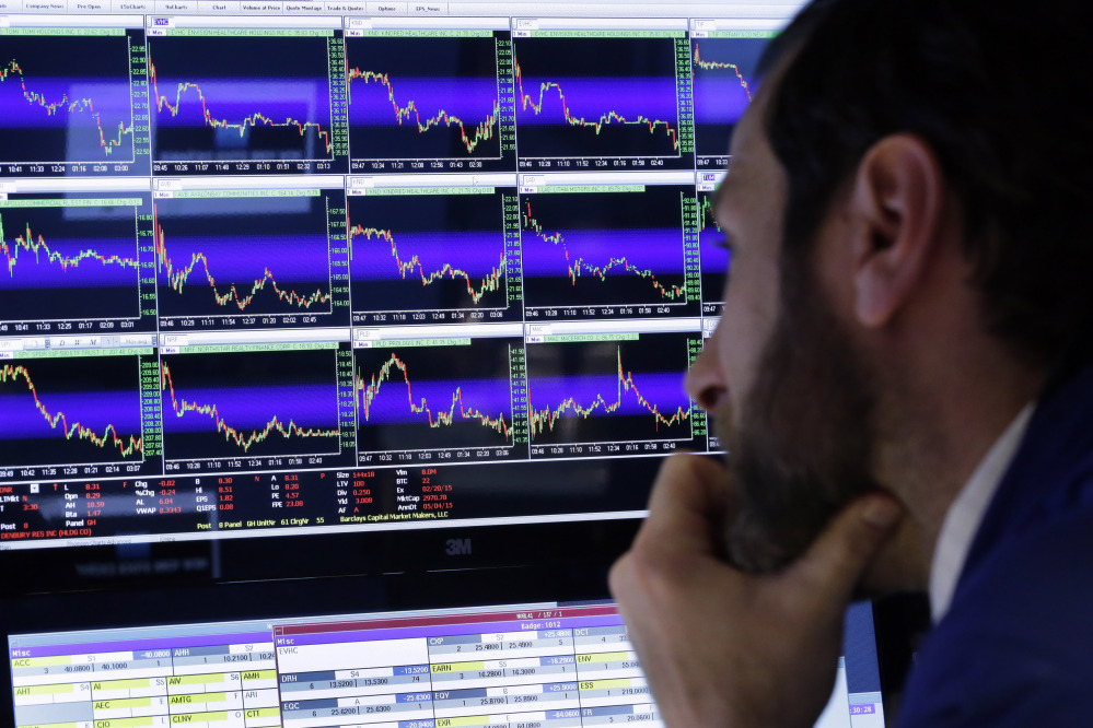 Stocks specialist Michael Pistillo watches his screens at his post on the floor of the New York Stock Exchange. As the stock market climbs ever higher, professional investors are warning that companies are presenting misleading versions of their results.