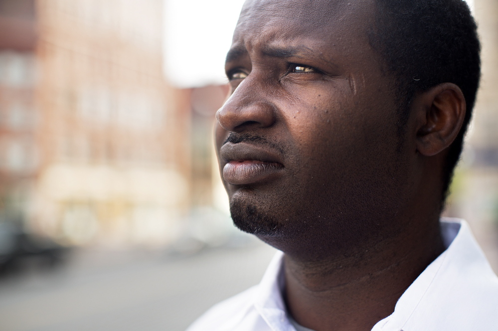 Hamet Ly left Mauritania after being targeted by criminal gangs because he worked at the U.S. Embassy there.