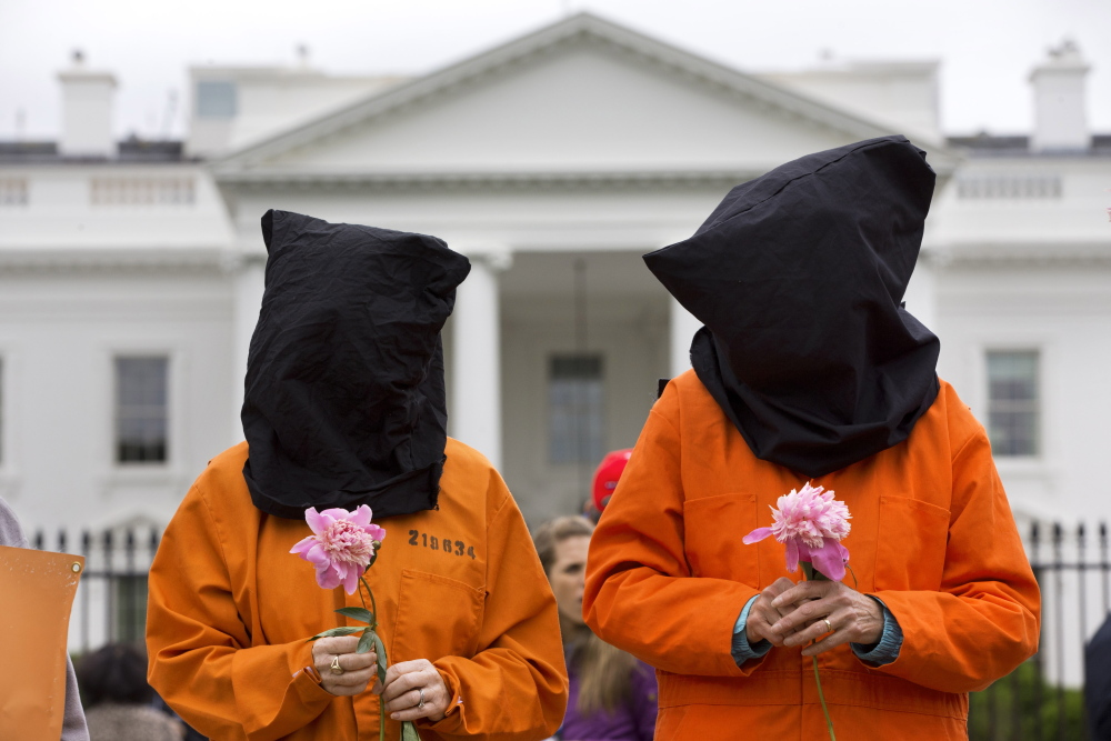 While protesters have called on the White House to close the U.S. military prison at Guantanamo Bay, Cuba, the Senate took a step Tuesday to ensure the detainees aren't tortured.