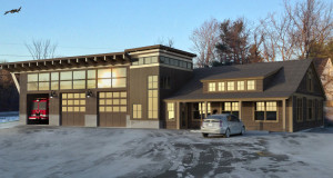 Virtual image of Randolph Fire House by Adam Wallace.