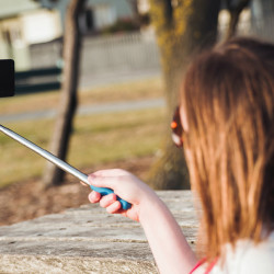 The cheap metal rods have been banned from peak selfie destinations across the world, from the Metropolitan Museum of Art to Lollapallooza, from the Kentucky Derby to the Wimbledon tennis championships. Shutterstock image