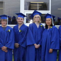 From left are Shawn Farrington, Tanis Bonenfant, Natorra-Lee Jutras, Andrew Goossens, Xinan Clark, Michelle Ross, Angela Fagin, Summer Usher, Jazmyn Quimby and Jacob Sharpe.