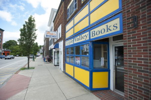 Exterior view of the now-closed Apple Valley Books on Monday in Winthrop.