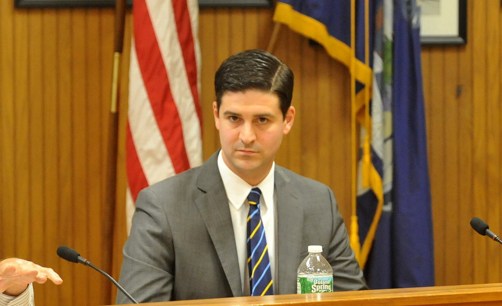 Waterville Mayor Nick Isgro vetoed next year's city budget Wednesday, less than 24 hours after the city council voted to adopt the $37.4 million spending plan.