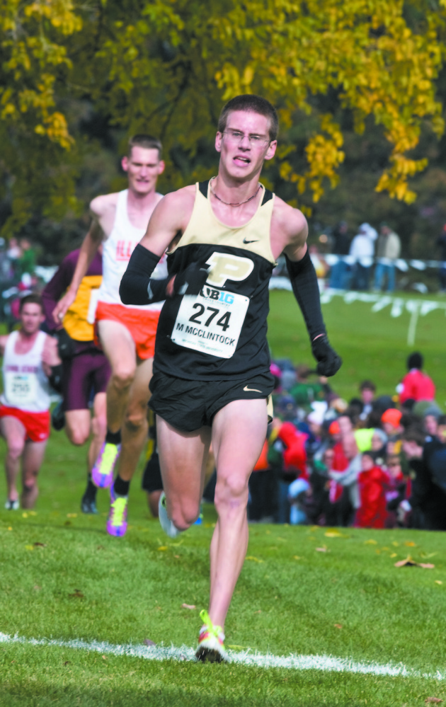 Purdue runner and Athens native Matt McClintock just wrapped up a season that involved an All-American performance at the NCAA Outdoor Track and Field Championships.