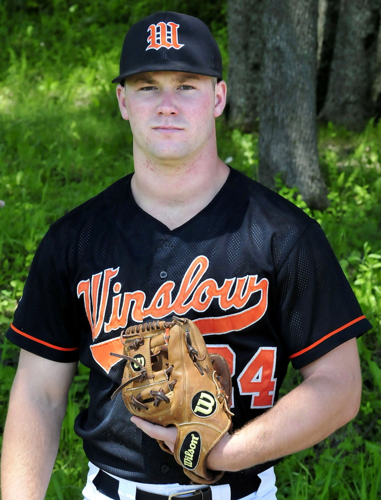 Winslow's Dylan Hapworth is the Morning Sentinel Baseball Player of the Year.