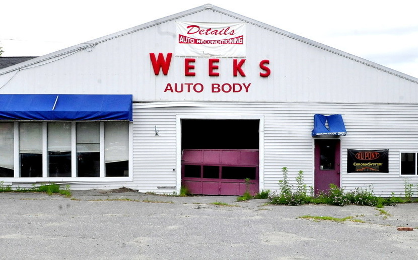 The Waterville Planning Board is considering a request to rezone the property at 145 Kennedy Memorial Drive in Waterville to allow the former Weeks garage to become a car and dog wash.