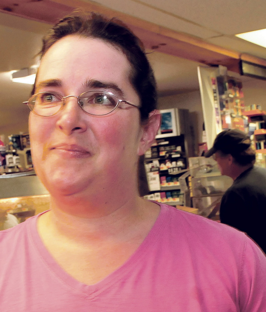 """Athens Corner Store manager Katie Anton, seen here in this July 21 photo, said she is """"relieved"""" to have Robert Burton in custody."""