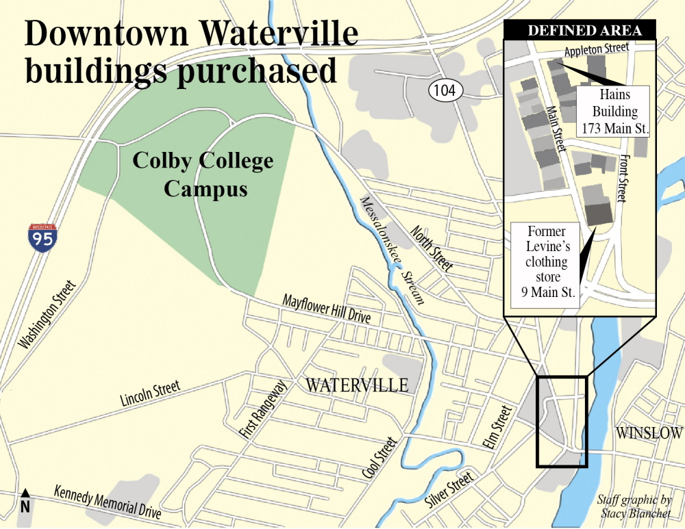 Colby College Buys Two Waterville Buildings As Part Of Effort To