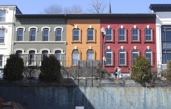 A portion of Water Street in Augusta would be part of a new historic district if City Council approves a proposal now under consideration.