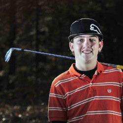 Staff photo by Joe Phelan   Former Maranacook standout Luke Ruffing is prepping for the Maine Open, which gets under way Monday at the Augusta Country Club.