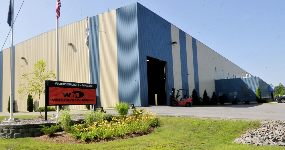 The Wunderlich-Malec company inside the Winslow Industrial Park.