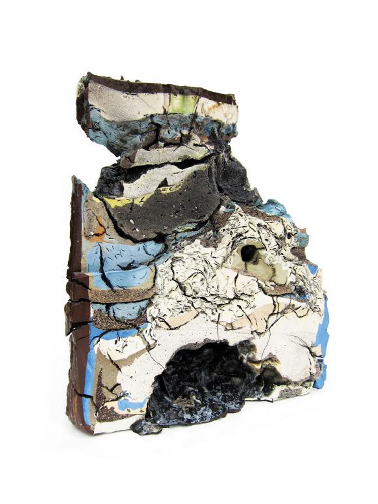 """""""Landfill No.9: Northeastern Cross Section"""" by Jonathan Mess."""