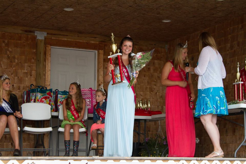 Raelyn Spencer, of West Gardiner, was named Miss Congeniality.