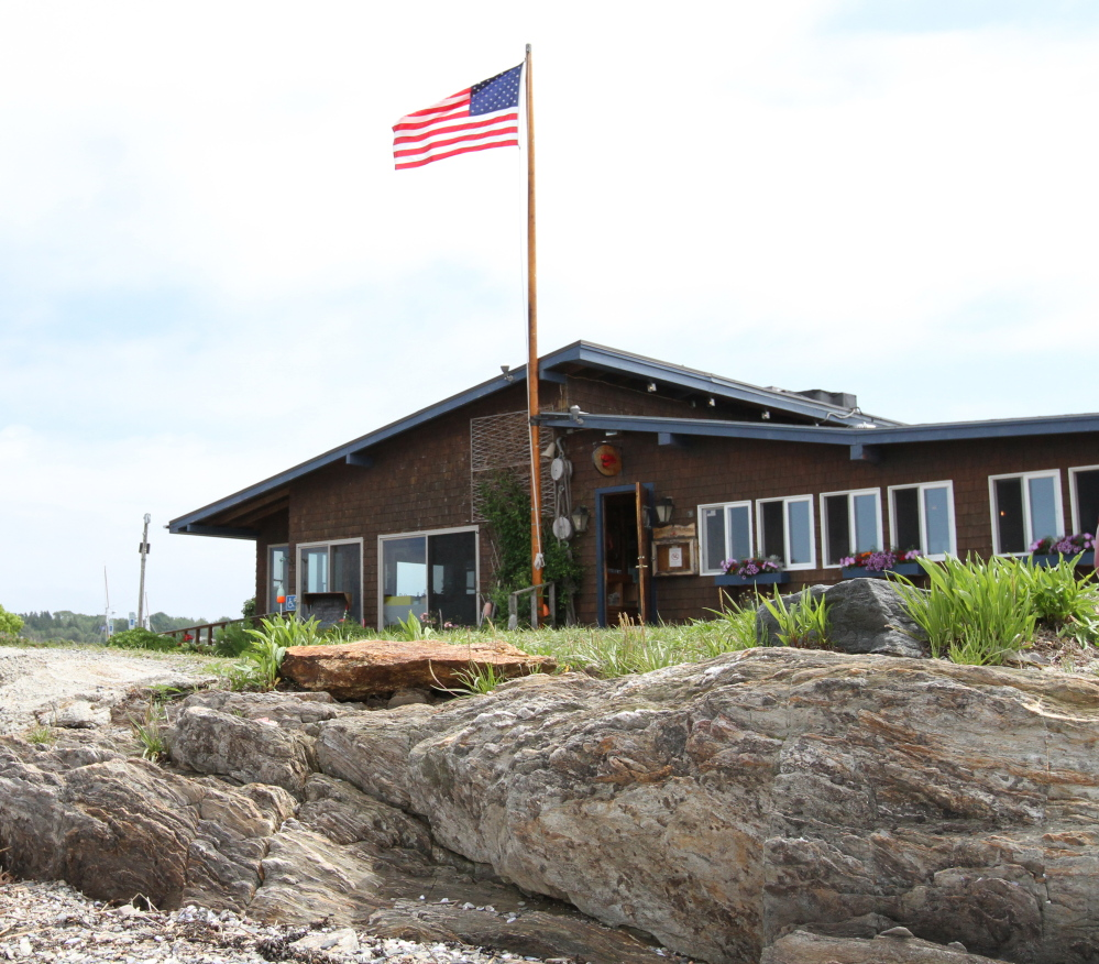 New owners plan to expand the outdoor deck and add fire pits to Cook's Lobster House in Harpswell.