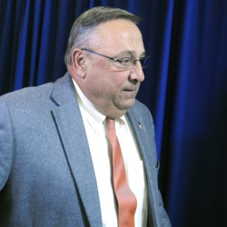 "Gov. Paul LePage said Wednesday that he already vetoed 19 bills whose status is unclear. ""Get a life,"" he told journalists who posed questions afterward."