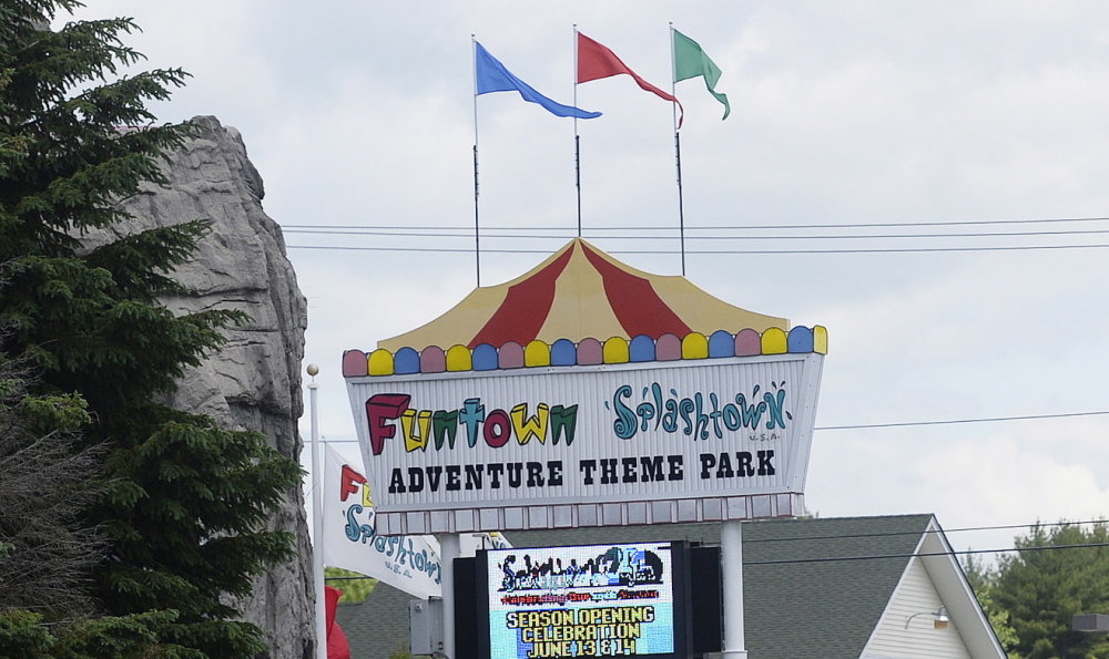 Ed Hodgdon of Funtown Splashtown USA said it was a learning experience for him after the Saco business was hit with heavy online criticism intended for a Texas water park.