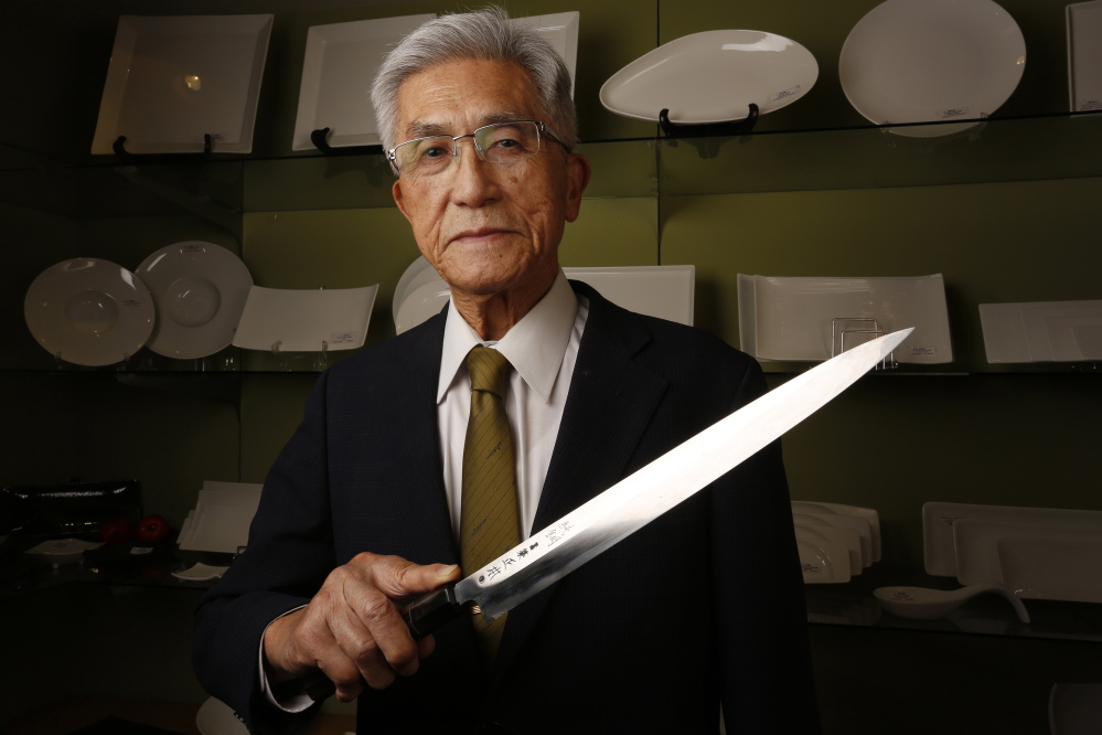 Noritoshi Kanai, 92, chairman of Mutual Trading Co., a distributor of Japanese food and restaurant supplies, hasn't lost his edge when it comes to business acumen.