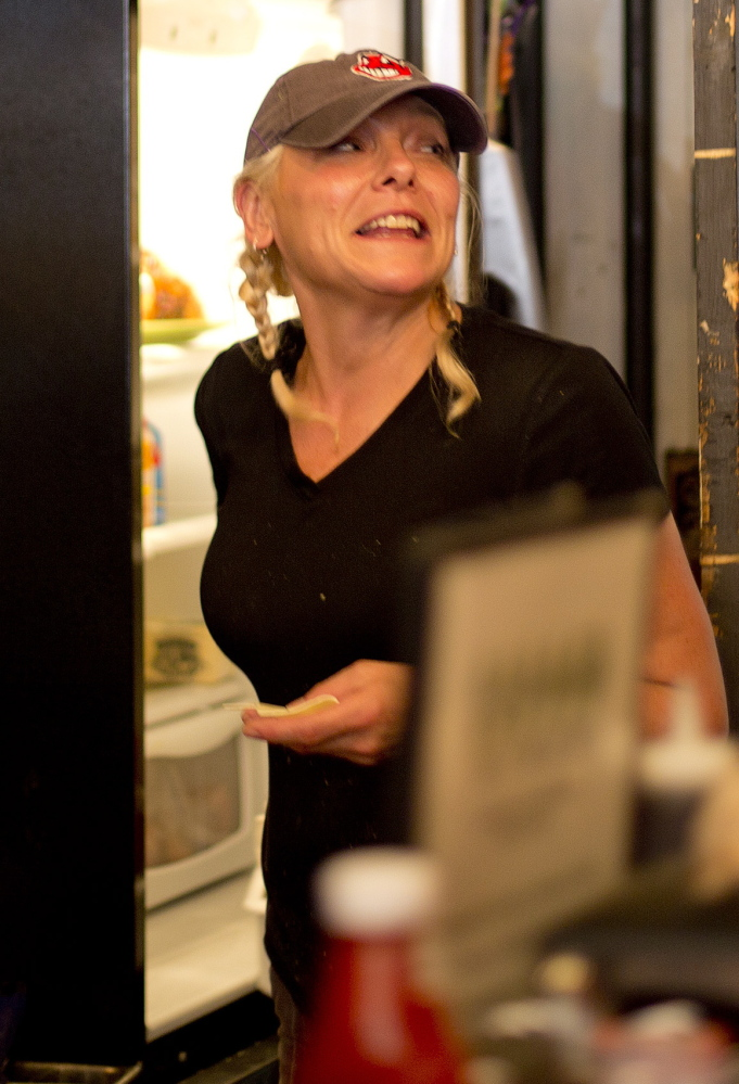 Marcy's Diner owner Darla Neugebauer said Wednesday that she has no regrets about yelling at a crying toddler for disturbing her customers.
