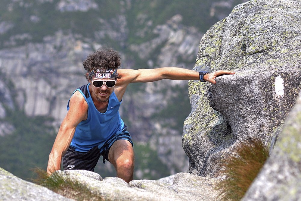 Scott Jurek covered the Appalachian Trail in record time but got his comeuppance from irate Baxter State Park officials soon after scaling Mount Katahdin.