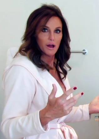Caitlyn Jenner is shown in a promotional trailer for her new series on E!.