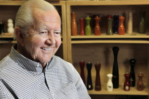 Everett 'Vic' Firth, owner of the Vic Firth factory in Newport that makes renowned drumsticks, has died.