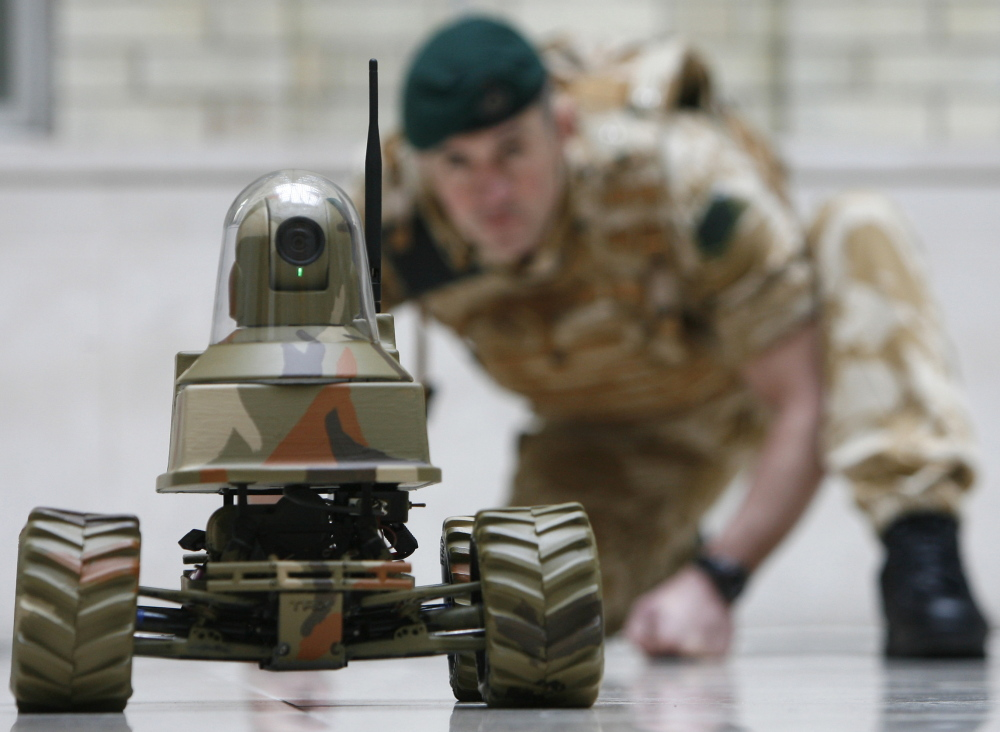 """A group of scientists said in an open letter Tuesday of the military's development of autonomous weapons: """"a global arms race is virtually inevitable, and the endpoint of this technology trajectory is obvious: Autonomous weapons will become the Kalashnikovs of tomorrow."""""""