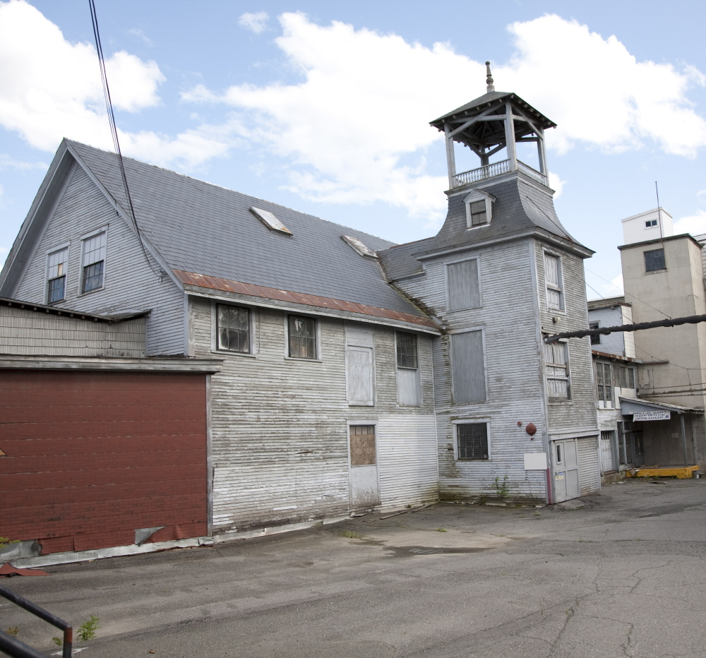 The Mayo Mill before the renovation.