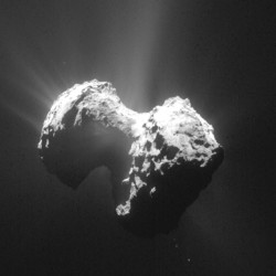 Data from the space probe on comet 67P/Churyumov-Gerasimenko supports the theory that comets can be cosmic labs where some elements of life are assembled.