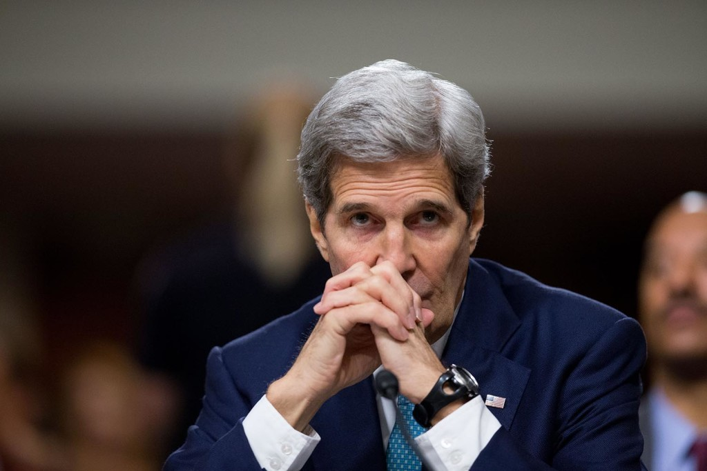 Secretary of State John Kerry called the Iranian foreign minister Tuesday about the incident involving two small U.S. Navy boats.