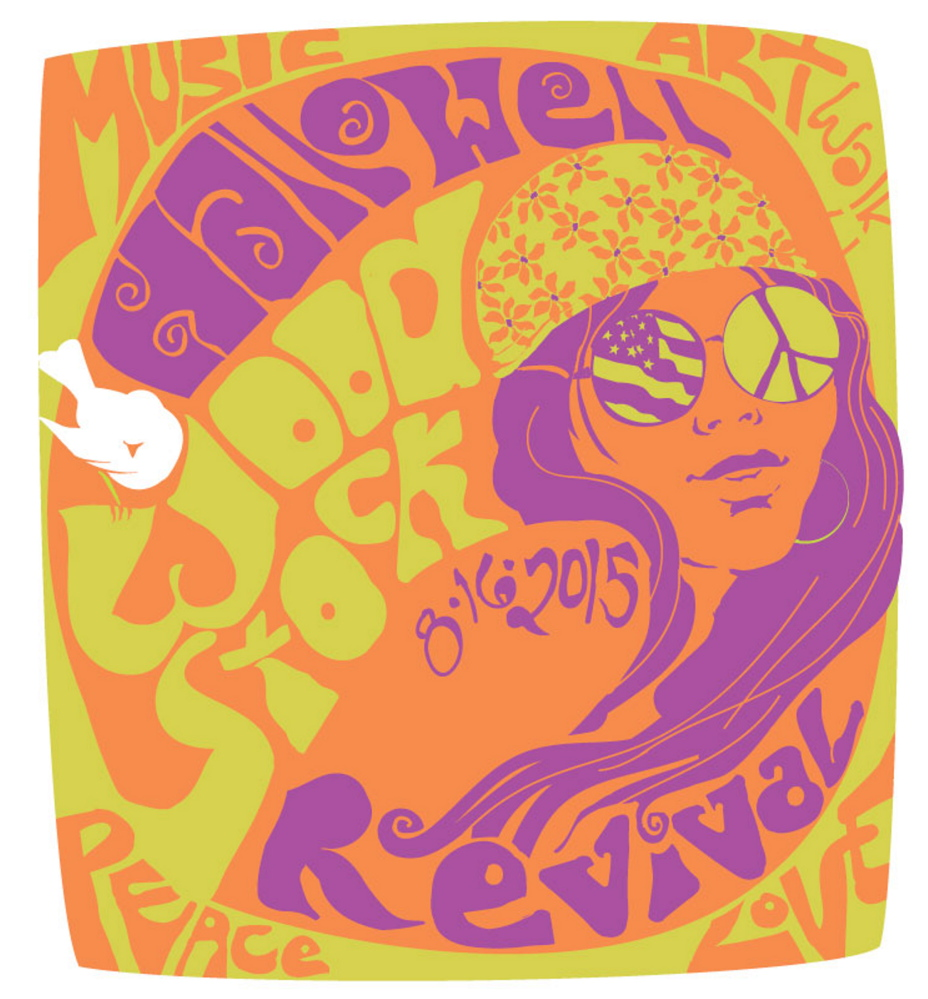 The first Woodstock Revival and Art Walk is set for noon to 6 p.m. Sunday, Aug. 16 in Hallowell.