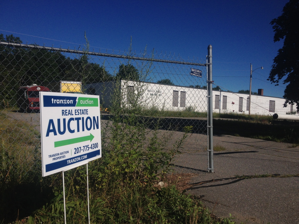 The former Hall-Dale Elementary School will be sold at auction in September.