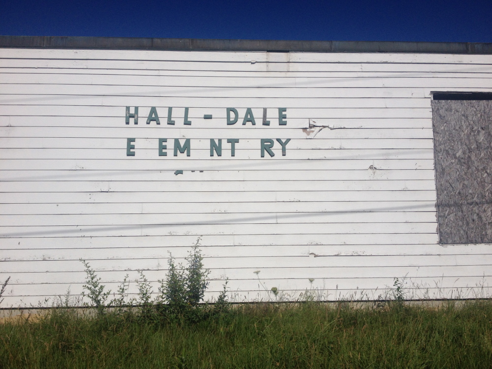 A developer who planned to convert the former Hall-Dale Elementary School into senior housing wasn't able to fund the project.
