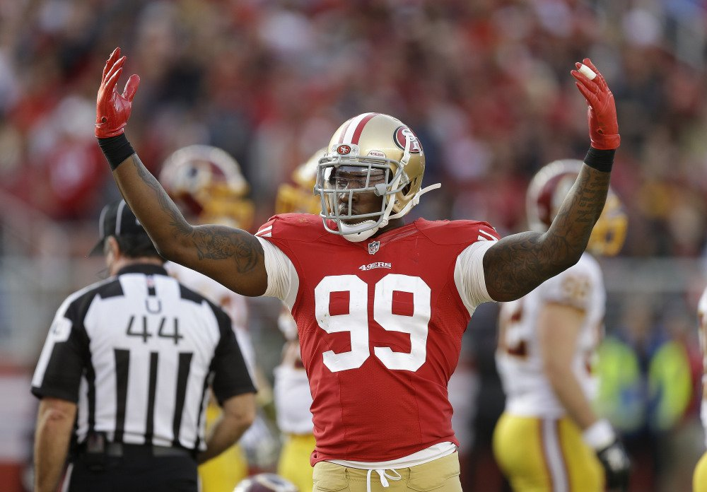 Aldon Smith received second chance after second chance with the 49ers, who parted ways with their troubled linebacker Friday following his fifth run-in with the law. Santa Clara police arrested Smith on Thursday, and accused him of drunken driving, hit and run and vandalism.