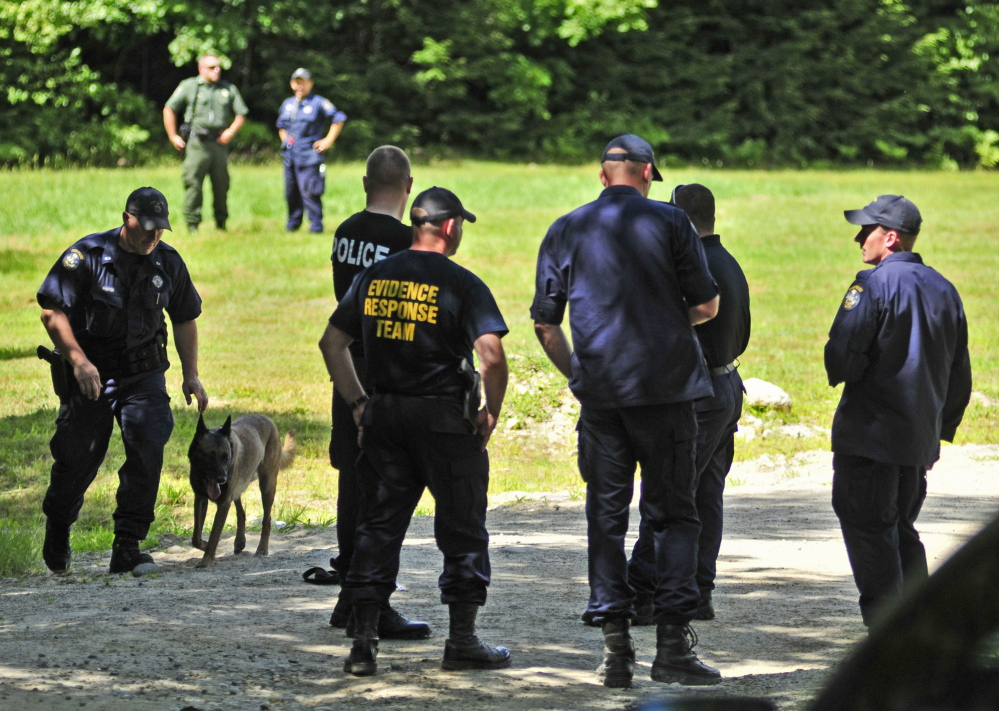 Investigators and a search dog looked for Kimberly Moreau in Canton last week and a new search is expected to be launched in the coming weeks.