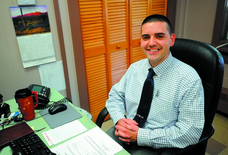 Josh Reny, town manager of Fairfield, is leaving for a new position.