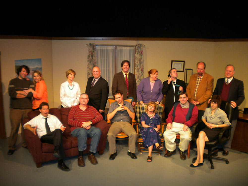 "Aqua City Actors Theater performed Norman Foster's ""Office Hours"" during its 2012/2013 season. Waterville Creates! doubled the theater group's rent for its use of the 62-seat Studio Theater on the first floor of The Center, which the all volunteer company can't afford."