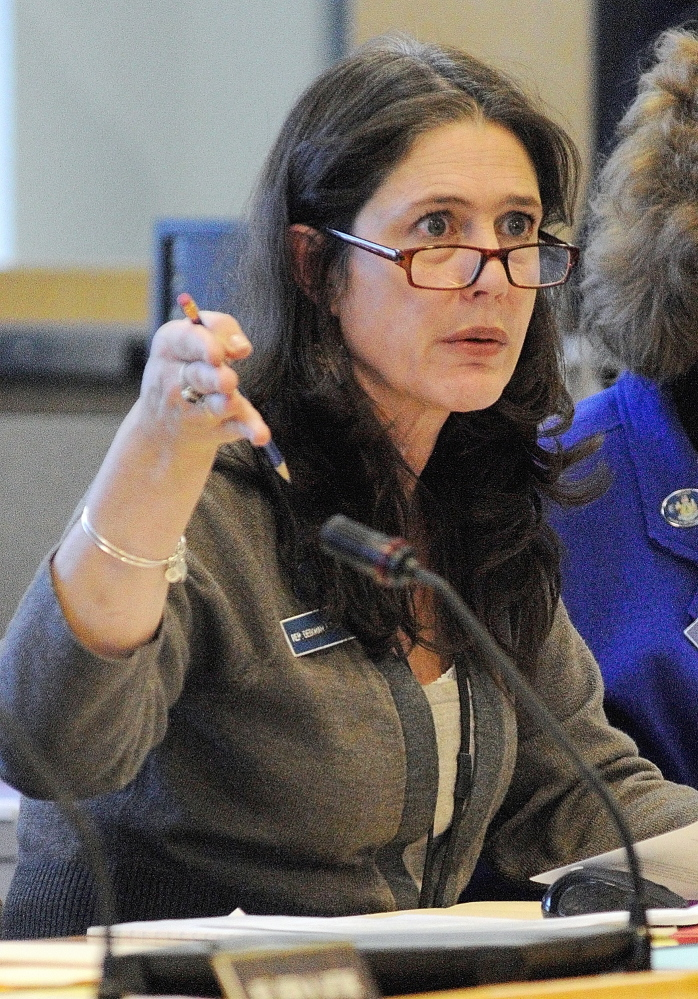 Rep. Deborah J. Sanderson, R-Chelsea, shown here in this 2014 file photo, will meet with Jefferson and Whitefield residents Wednesday to listen to their concerns about the water level in Clary Lake.