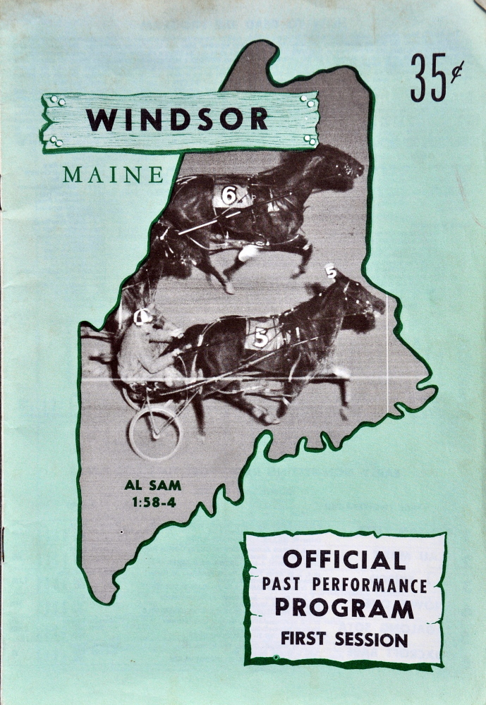 This Windsor Fair racing program is from 1967, the first year that Eino Leinonen began attending every race for the next 47 years.