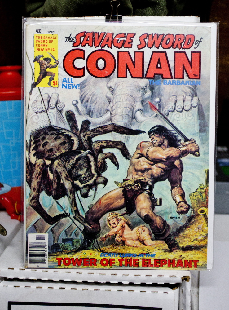 Gilley caught the comics bug when he stumbled upon a pile of Savage Sword of Conan magazines at a Norway hotel.