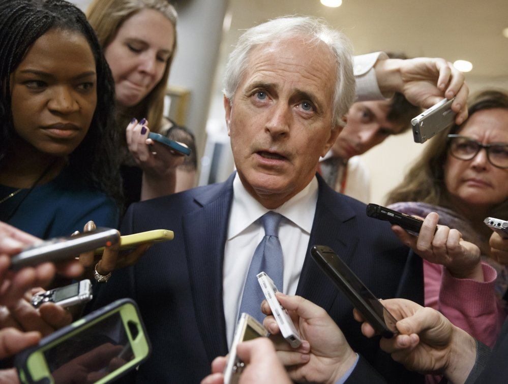 Sen. Bob Corker, the Tennessee Republican who chairs the Foreign Relations Committee, says the White House's lobbying campaign on the Iran nuclear deal could overcome his party's opposition.