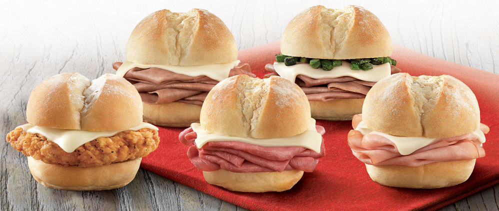 Arby's introduced a lineup of sliders this week, mini versions of its regular sandwiches that cost less than $2 each. Fast-food purveyors are starting to see the perks of going small.