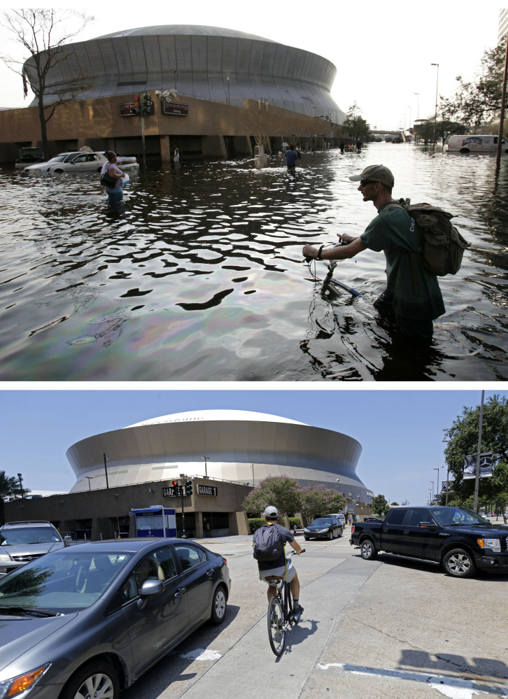 The Superdome was supposed to be a safe haven for refugees, but when 30,000 evacuees became trapped inside, it became an example of how unprepared officials were.