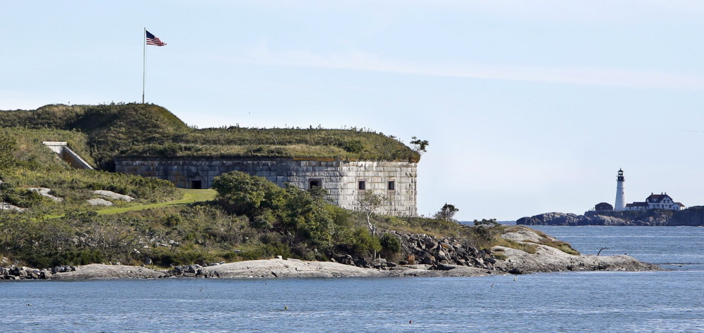 In addition to its prominent place in Portland's harbor, House Island holds an important place in history as its fort exchanged fire with a British privateer during the War of 1812.